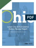 Lorain City Schools District Review Report
