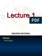 Lecture 01 - Introduction