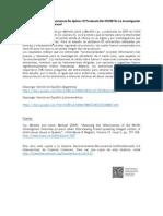 Estudio Confirma La Importancia de Aplicar El Protocolo Del NICHD en La Investigación de Víctimas de Abuso Sexual