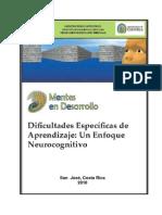 Dificultades Especificas de Aprendizaje Un Enfoque Neurocognitivo