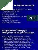 Pengenalan Manajemen Keuangan