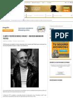 El Antes y Después de Michel Foucault - Una Nueva Imaginación Política