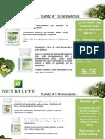 41961671 Combos Nutrilite