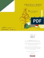 Le ricette di Friuli Doc