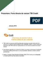 Sales Policy Forta Directa 2012 Pentru Noi