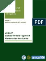 Unidad 4 Modulo II Evaluacion de La Seguridad Alimentaria y Nutricional