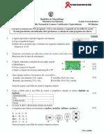 Enunciado Biologia 10ª Cl 2013- Extra