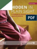 Hidden in Plain Sight Statistical Analysis (Summary)