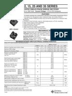 GBPC3502 Puente Rectif