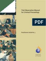 ICJ Trial Observation Manual