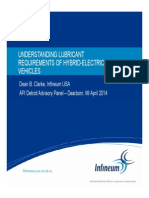 9 DAP Understanding Lubricant Requirements of Hybrid Electric Vehicles DClarke Infineum USA