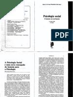 LANE, S.M.T. Psicologia Social O Homem Em Movimento. 10a19