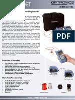 Optronics OPTMSKIT2 Multimode and Singlemode Optical Test
