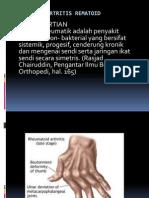 Askep Pada Artritis Rematoid