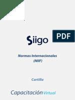 Cartilla Normas Internacionales (Niif) en Siigo