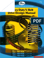 Gates - Heavy Duty v-belt Drive Design Manual