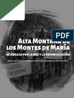 Alta Montaña Cadena Humana-Movilización 8 de septiembre_El Carmen de Bolívar