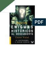 Vidal Cesar - Nuevos Enigmas Historicos Al Descubierto