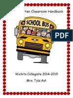 Kindergarten Classroom Handbook PDF