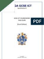GCSE Course Work 2011 Cohort - Help Guide
