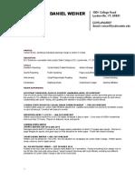 Dw Resume