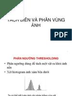 Tách Biên Và Phân Vùng Ảnh