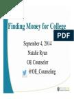 Financial Aid & Scholarship Parent Presentation 14-15