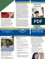 international student brochure