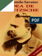 Savater Fernando - Idea de Nietzsche