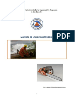 Manual de Manejo de Motosierra Version Revisada