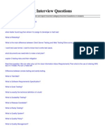 Download Manual Testing Interview Questions PDF