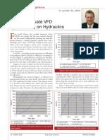 VFD in Hydraulics