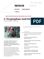 L-Tryptophan and Stroke _ Aminoacidinformation