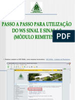 Suframa - Passo a Passo - Ws Sinal