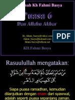 Puasa-6 & Allahu-Akbar