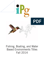 IPG Fall 2014 Outdoor-Fishing, Boating, And Water Based Environment Titles
