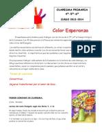 2. Evangelios y Símbolos. Primaria 4-5-6. 2014