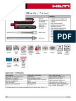 Hilti - Calculo Manual de Re500