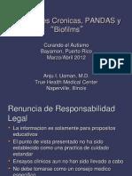 Infecciones Cronicas, PANDAS y Biofilms