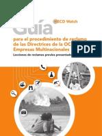 Guia de Procedimientos de Reclamo OCDE