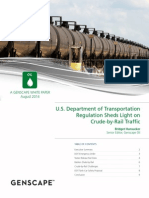 Genscape white paper on crude-by-rail traffic