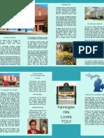Revised Hometown Brochure