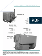 Siemens Performance Data Horizontal ANEMA ANSP-61000-0706 R0