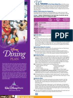 Dining Plan Info 2008