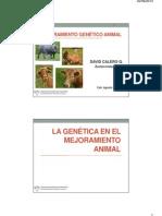 02 - La Genética en El Mejoramiento Animal