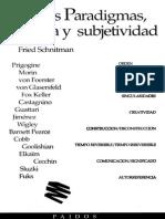DORA FRIED SCHNITMAN (comp) , Nuevos Paradigmas, Cultura y Subjetividad (1994)