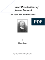 Thomas Troward the Teacher and the Man
