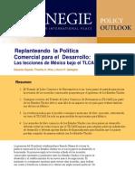 Replanteando la Política Comercial para el  Desarrollo