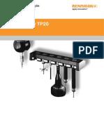 Manual de Utilização_ Apalpador TP20