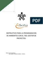 Instructivo Programacion de Ambientes en Sofia.